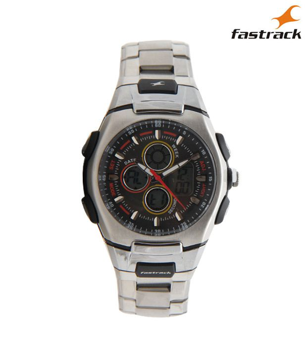 Fastrack DIGITAL 4052PM01 Men's Watch