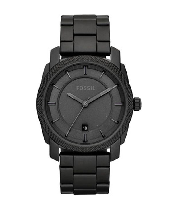 Fossil Black Analog Watch For Men
