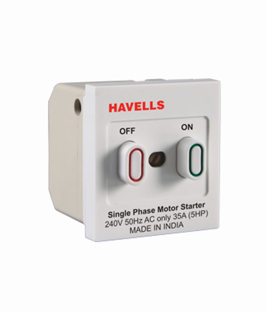 single phase motor starter switch golkit com 240V Motor with Thermal Protection 240v Wiring Diagram Motor Starters buy havells oro32a motor starter online at low price in india