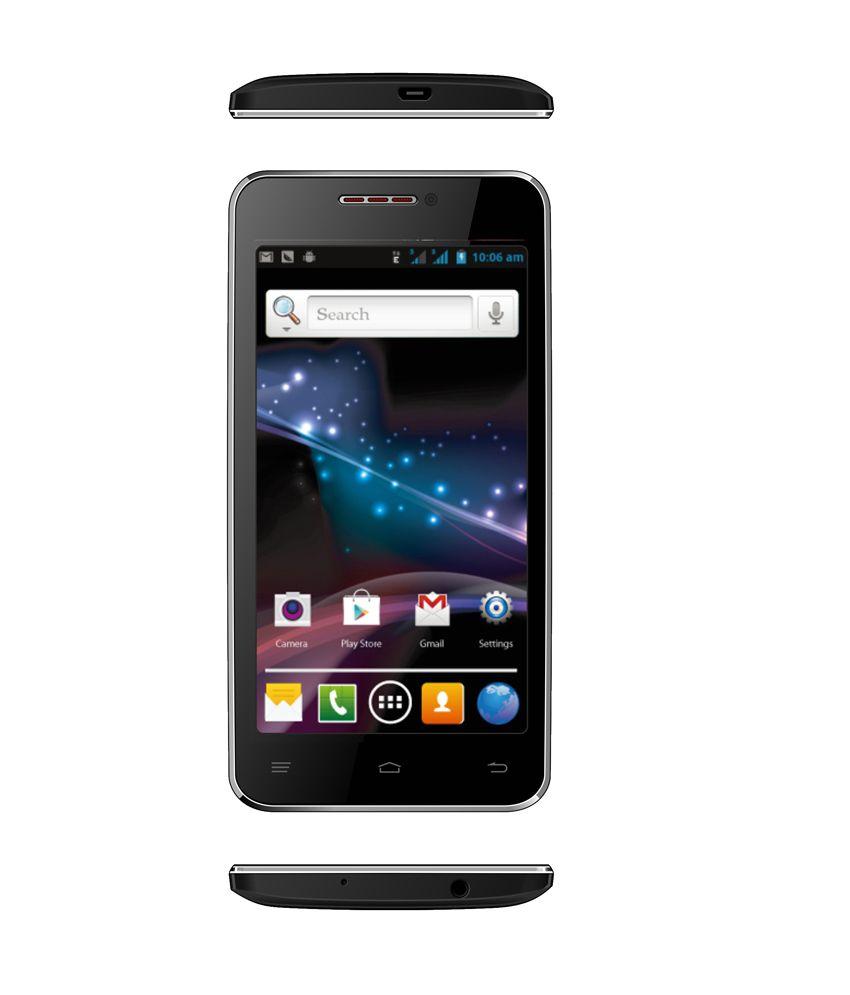 I-Smart IS-50 Black Smartphone With Freebie