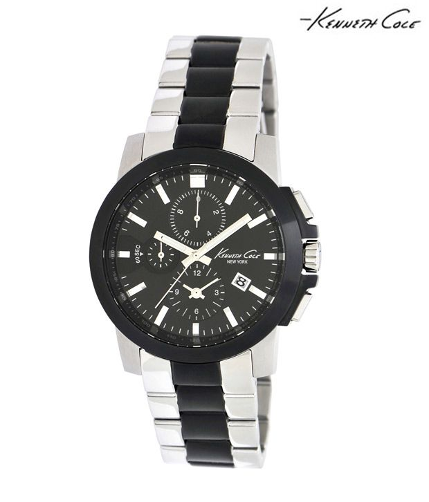 Kenneth Cole Kenneth Cole Black & White Watch