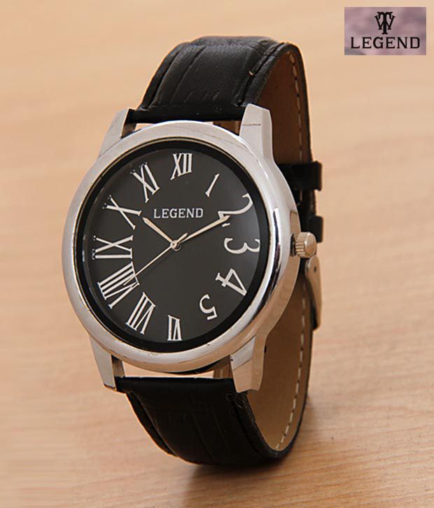 Legend Rich Black Dial Watch