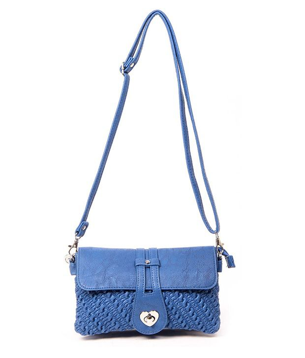 Lovely Chick 9033-Blue Cross Body Sling Bags