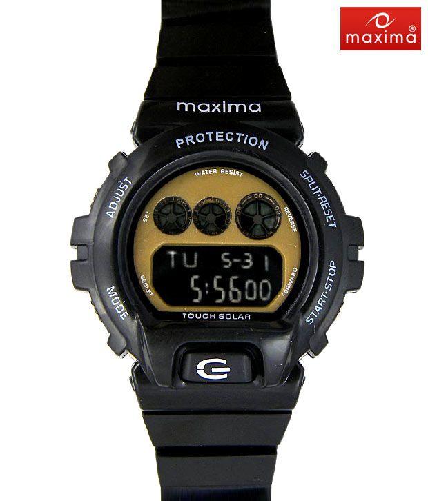 Maxima Touch Solar Digital Watch