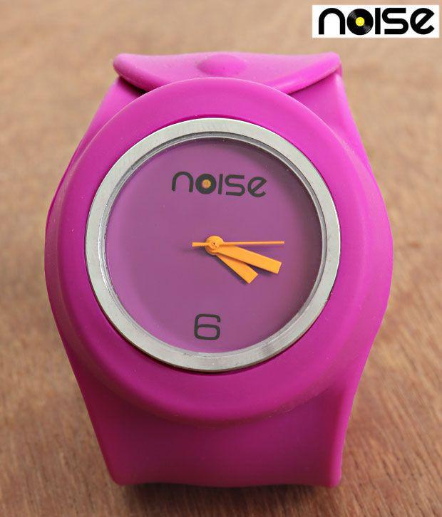 Noise Sporty Purple Strap Watch
