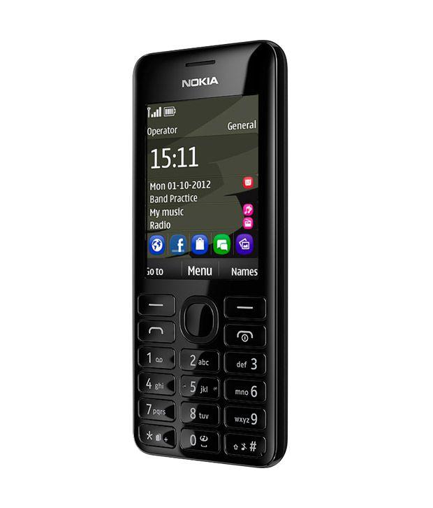 Nokia ( 4GB and Below , 1 GB ) Black