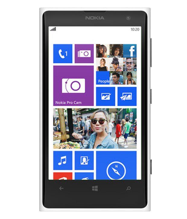 Nokia Lumia 1020 (White)