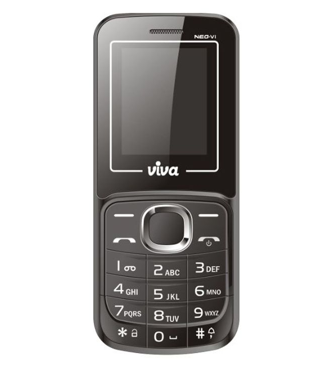 VIVA NEO-Vi with Talking Keypad Black Mobile Phones Online ...