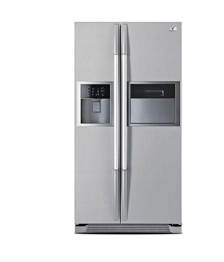 Videocon REF VPL60ZPS-FSC 604 L Side by Side  Refrigerator