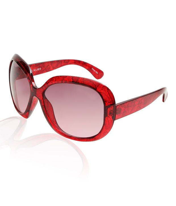 A.Klein Radiant Red Sunglasses