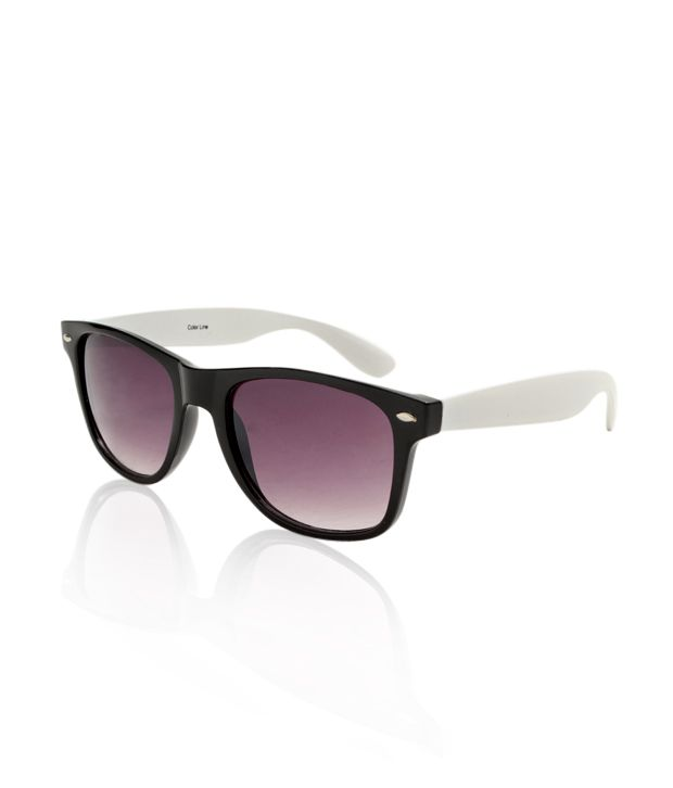Color Line Black & White Wayfarer