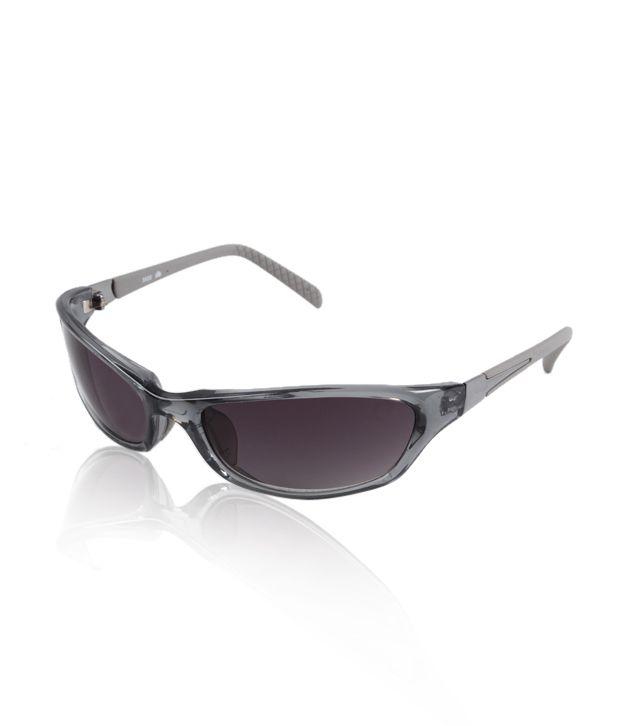 Lotus Grey Sporty Sunglasses