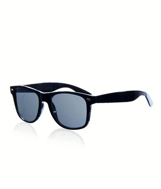 Melba Stylish Black Wayfarer Sunglasses