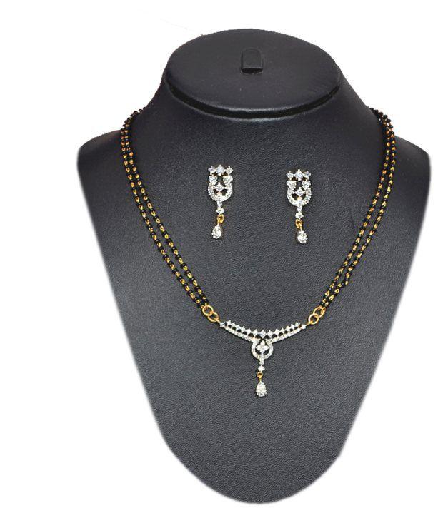 Pourni American Diamond Mangalsutra-SM125