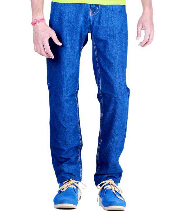 Sam & Jazz Blue Regular  Fit  Jeans