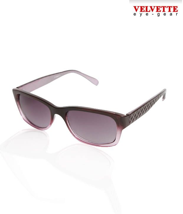 Velvette Glossy  Mauve Sunglasses