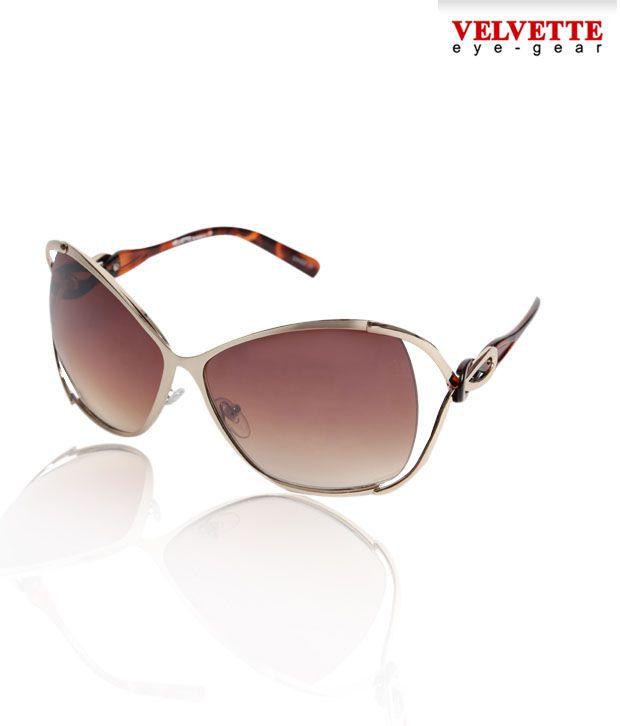 Velvette Golden Demi Sunglasses