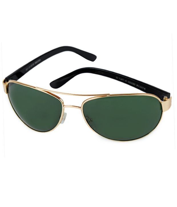 Aislin-Italy Sunglasses Aviator AS-3386-Gold Men's Sunglasses
