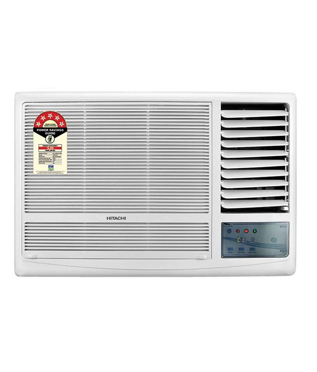 Hitachi 1 5 ton 5 star kaze plus raw518kudz1 window air for 1 5 ton window ac price india