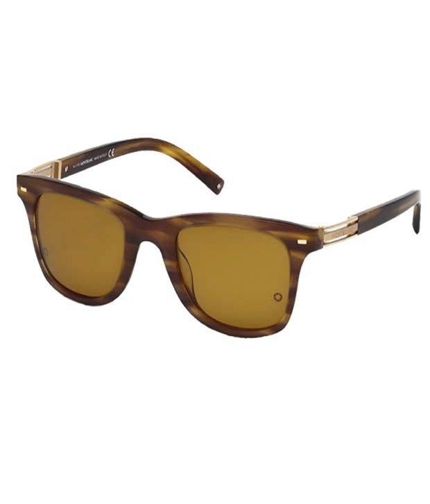 451338e446739 Mont Blanc 402S-50M-50 Wayfarer Frame Men s Vogue Sunglasses - Buy Mont  Blanc 402S-50M-50 Wayfarer Frame Men s Vogue Sunglasses Online at Low Price  - ...