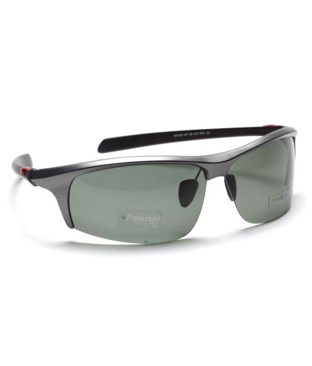 Navyfont Grey Men - Sporty Sunglasses