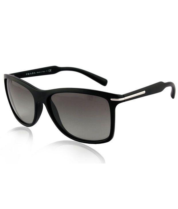 b3aa830bcc6 Prada SPR 10OS 1BO3M1 Sunglasses - Buy Prada SPR 10OS 1BO3M1 Sunglasses  Online at Low Price - Snapdeal