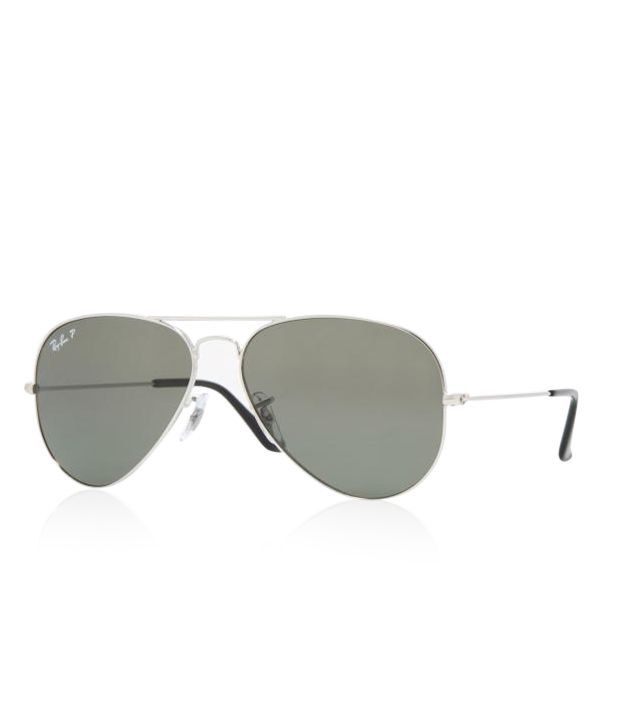 ray ban aviator large polarized  Ray-Ban Grey Aviator Sunglasses (RB3025 003 58-14) - Buy Ray-Ban ...