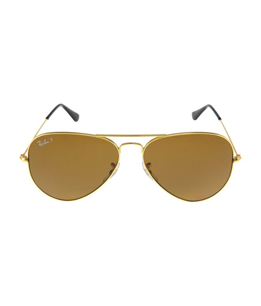 Ray-Ban Brown Aviator Sunglasses RB3025 001 57 - Buy Ray-Ban Brown ... fd14d8cac542
