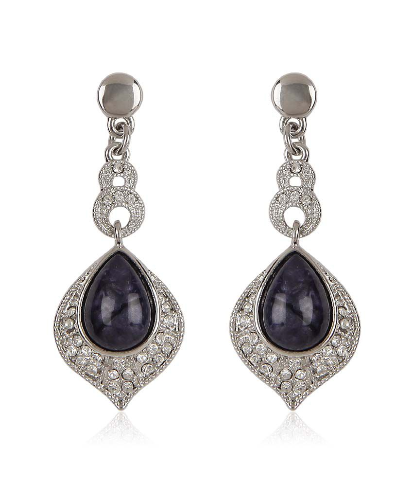 Trendy Baubles Pear Shaped Resin Victorian Danglers