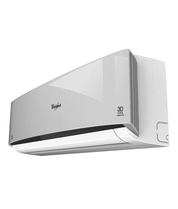 Whirlpool 1 5 Ton 5 Star 3D Cool PLT V Split Air Conditioner Silver