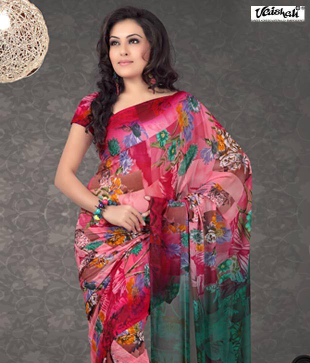Vaishali Pink Saree 964A