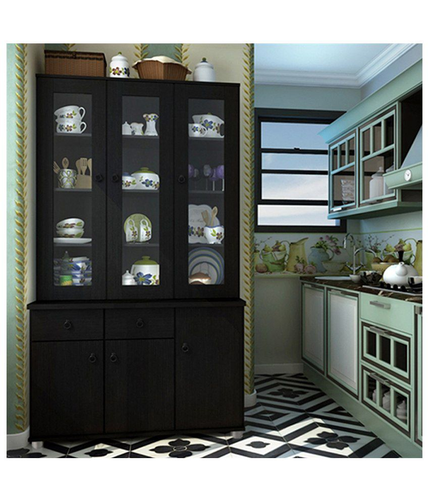 Housefull Wendy 3 Dr Kitchen Cabinet Kc3001 Wenge