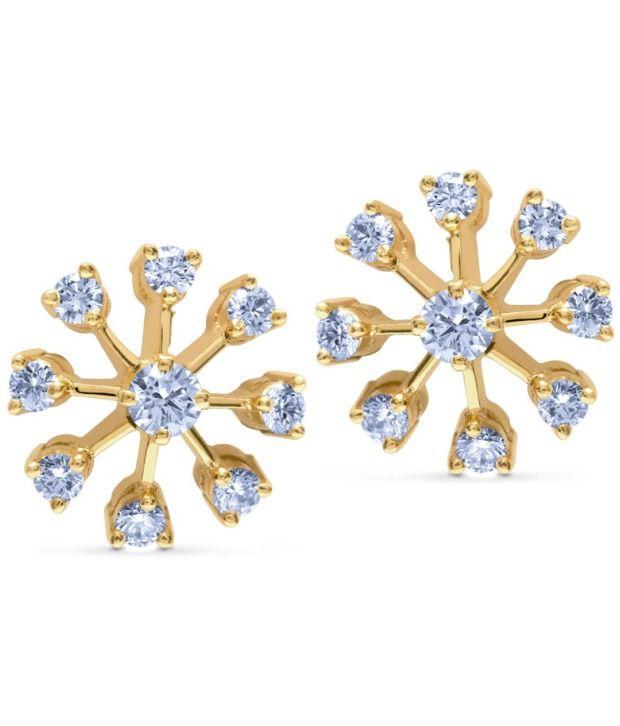 Caratlane Nakshatra Stud 18 Kt Certified Real Diamond