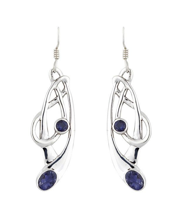 Opaleena Gorgeous Lolite Earrings