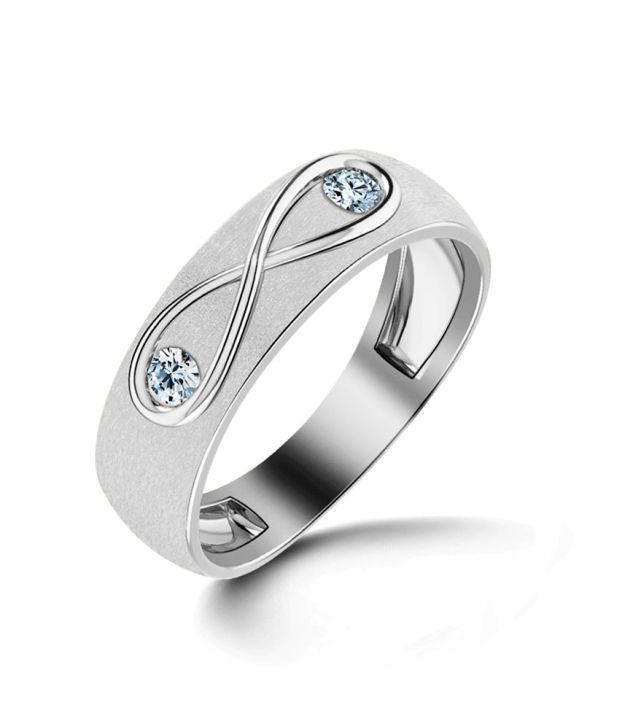 Caratlane Infinity Diamond Ring for Her