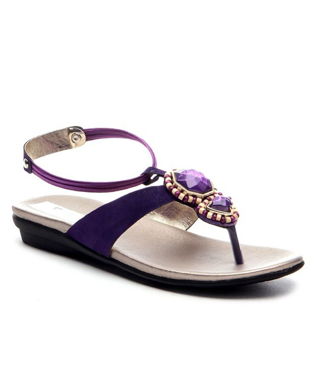 Nell Purple Flats