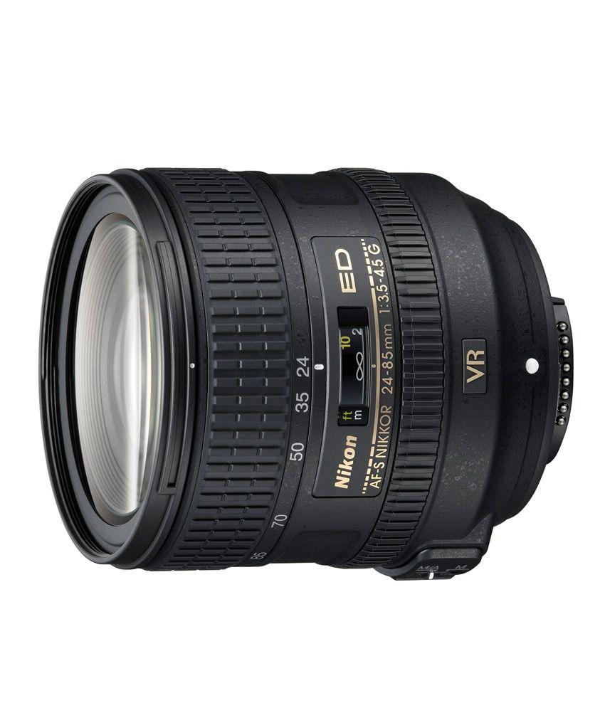 Nikon 24-85 mm f/3.5-4.5G ED VR  Lens (FX Format)