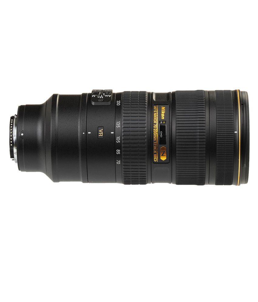Nikon 70-200 mm VR II f/2.8G ED  AF-S FX Lens