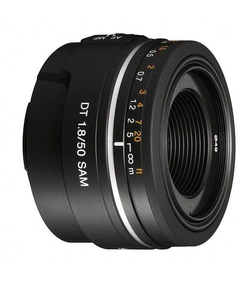 Sony Alpha DT 50 mm F1.8  Mid-Range Prime Lens
