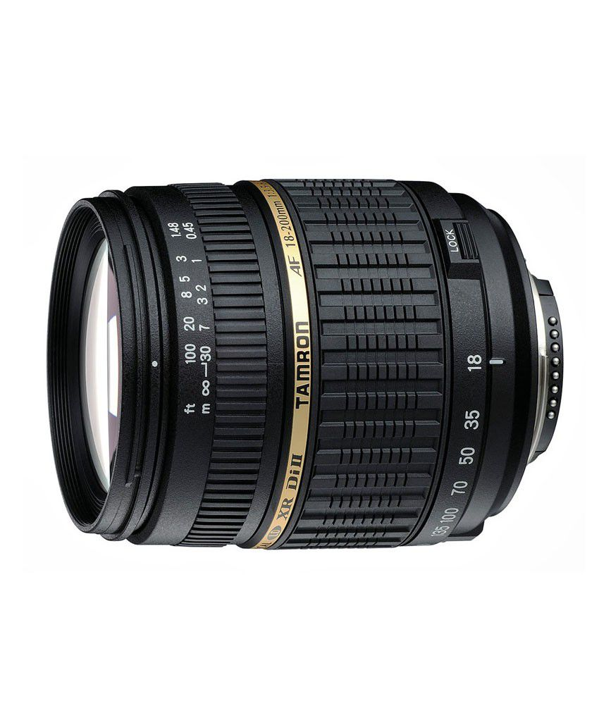 Tamron A14 AF 18-200 mm  F/3.5-6.3 XR Di-II LD Aspherical  (IF) Macro (for Canon) Lens