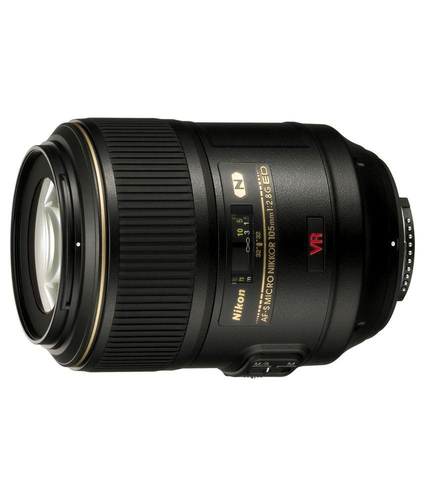 Nikon 105 mm f/2.8G IF-ED AF-S  VR Micro- Nikkor Lens (FX Format)