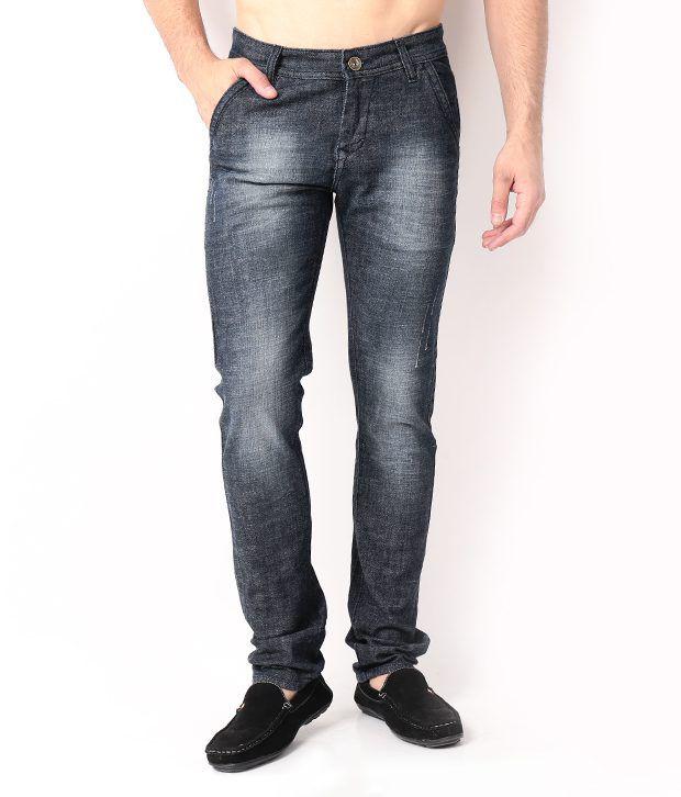 DesignRoadies Gray Slim  Jeans