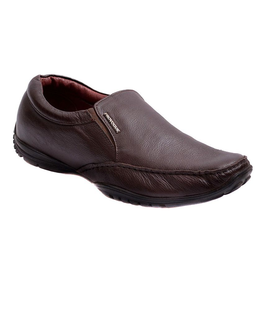 Provogue Formal Brown Shoes