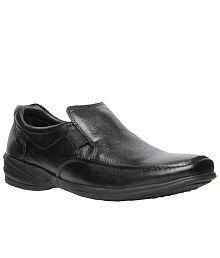 Hush Puppies Black Formal Shoes