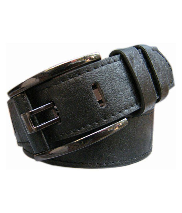 Winsome Deal Black Casual Single Belt for Men