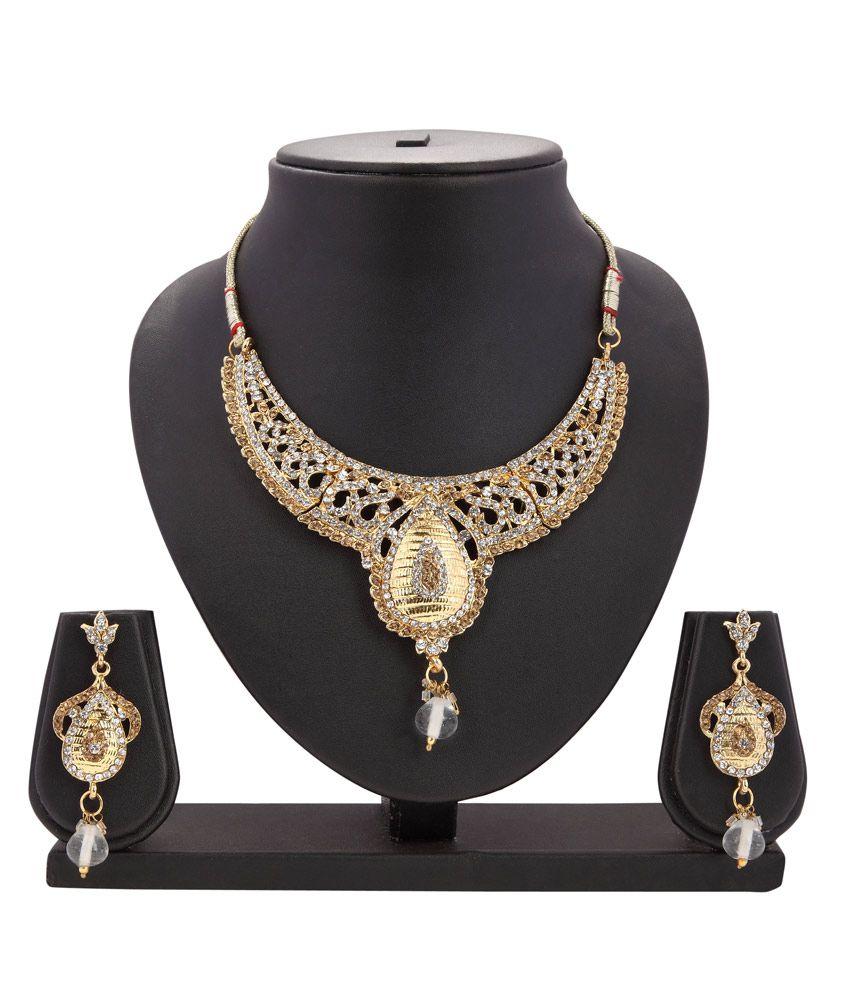 Dia's Ethnic Jewllery Necklace Set