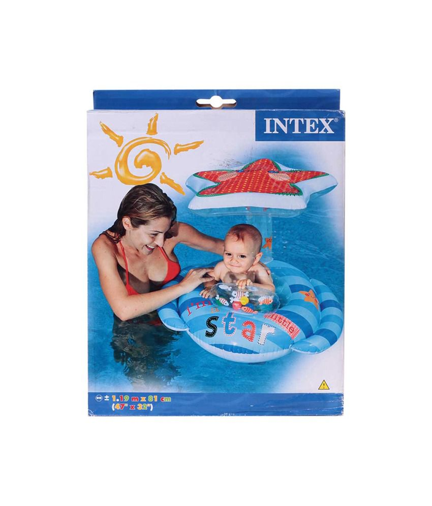 Intex Inflatable Intex Little Star Baby Float Pool Accessories