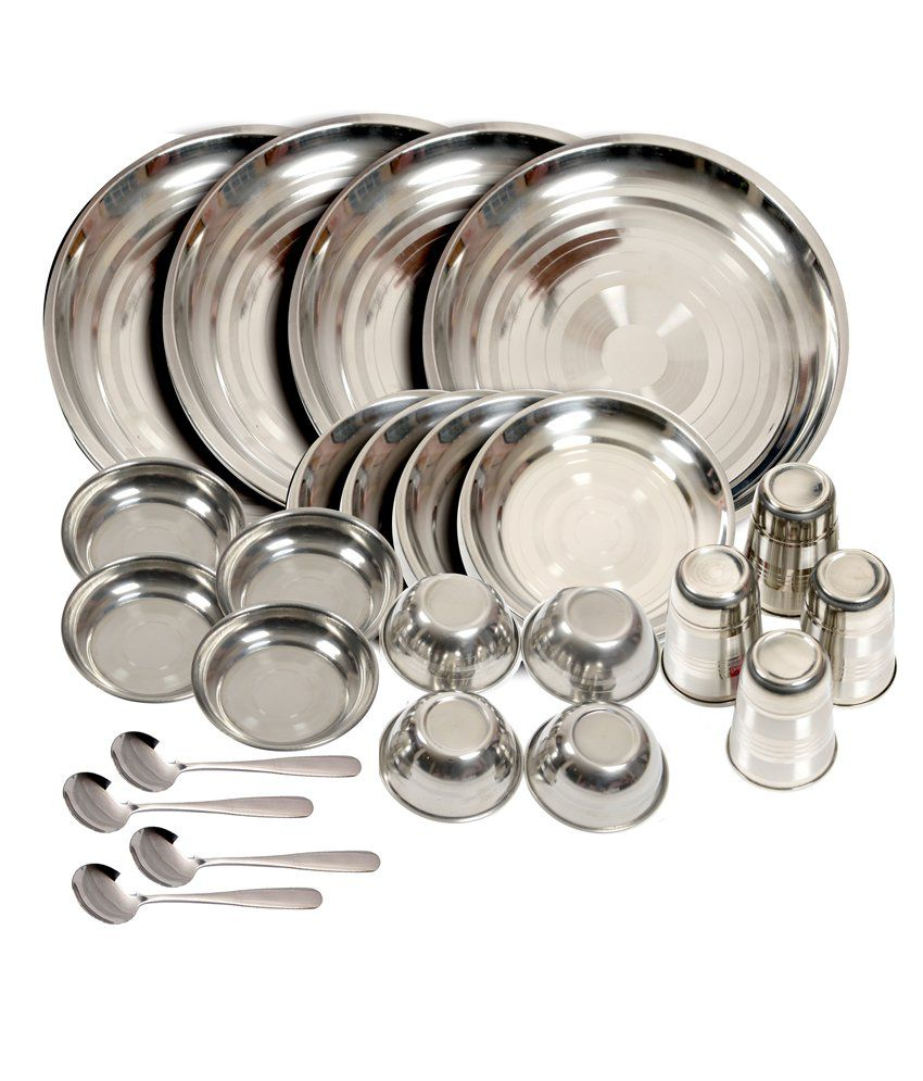 Silver Kitchen Set