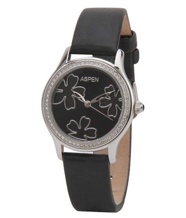 Aspen Women's Silver Color Metal Watch