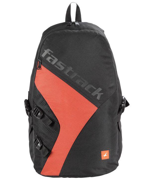 Fastrack Black A0514NBK02 Backpacks Art A0514NBK02 - Buy ...